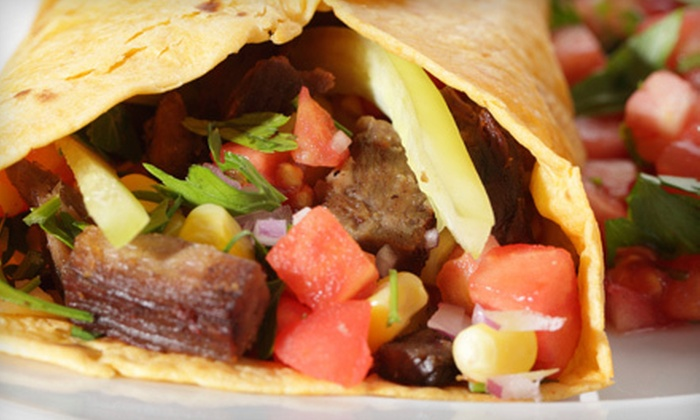 Tacos Uruapan - Industrial Pkwy W & Huntwood Ave: Mexican Cuisine at Tacos Uruapan (Half Off). Two Options Available.