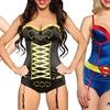 Undergirl x DC Comics Women's Corset and Panty Set