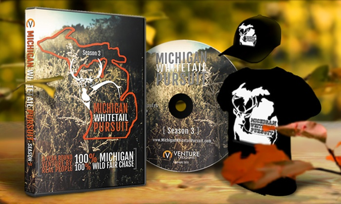 Michigan Whitetail Pursuit: $12.50 for $25 Worth of Hunting DVDs and Apparel from Michigan Whitetail Pursuit
