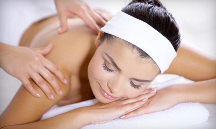 Table for One - Table For One: 60- or 90-Minute Custom Full-Body Massage, or Facial Package at Table For One (Up to 51% Off)