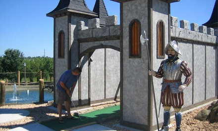 Day Pass Valid from 10 a.m.–5 p.m. for Two or Four at Greatest Adventures Mini Golf (50% Off)