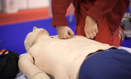 $75 for Five-Hour CPR/AED/First-Aid Class with Full Two-Year Certification at RC Scuba Center ($150 Value)