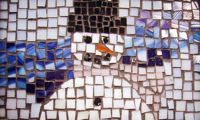Art Glass Studios - Livermore: 90-Minute Beginner Mosaic Workshop or Five-Week Stained Glass Class at Art Glass Studios (Up to 52% Off)