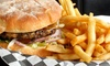 Burger Time - Central Bench: Burgers, Sandwiches, and Shakes at Burger Time Boise (Half Off). Two Options Available.