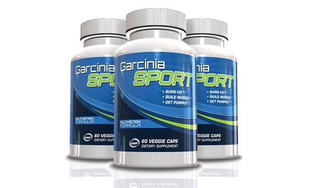 Garcinia Sport Multi-Action Fat-Burning Testosterone Booster for Men. 30-or 90-Day Supply from $9.99–$19.99.