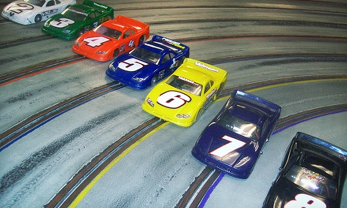 Cactus Hobbies - Sweetwater: Slot-Car Racing for Two, Four, or Six at Cactus Hobbies (Up to 53% Off)