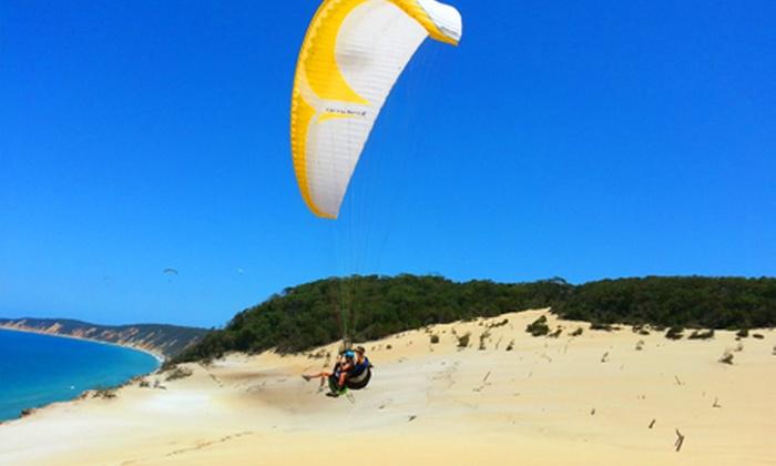 Paragliding brisbane