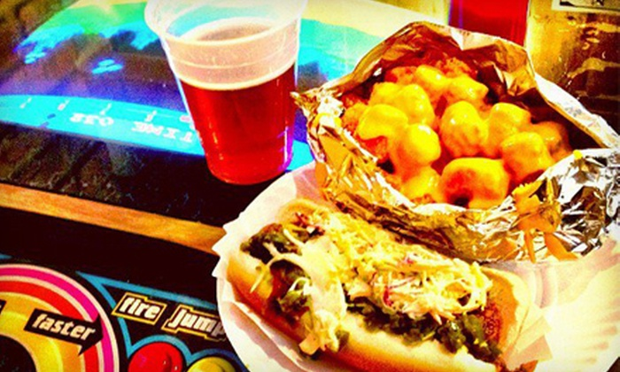 Crif Dogs - Multiple Locations: Hot Dogs, Fries, and Drinks for One, Two, or Four at Crif Dogs (Up to 61% Off)