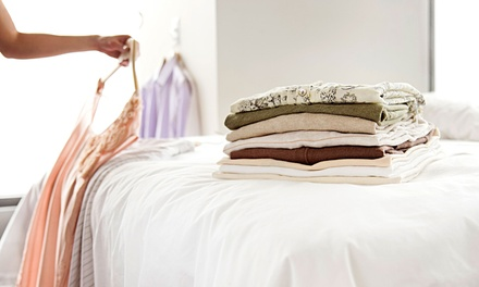 Dry Cleaning, Wedding Gown Preservation, or Comforter Cleaning at Eldorado Cleaners (Up to 57% Off)