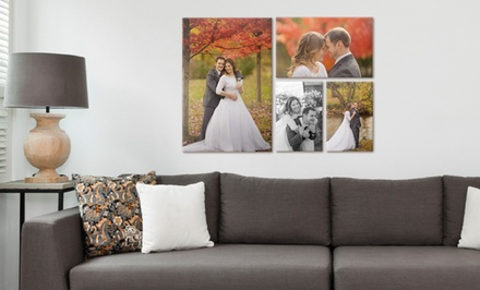 Cottage Four-Piece or Country-House Seven-Piece Wall Display on Canvas from Canvas on Demand (Up to 63% Off)