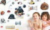 Angry Birds Star Wars Wall Decals: Angry Birds Star Wars Wall Decals. Free Returns.