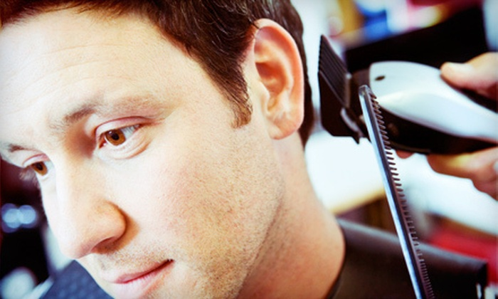 Charlie`s Barber Shop - Waukesha: $21 for a Hot-Towel Shave, Haircut, and Cigar at Charlie's Barber Shop ($53 Value)