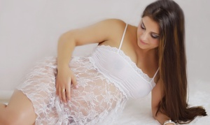 Tiny Toes Studios: $99 for a Boudoir or Regular Maternity Shoot with Digital Images at Tiny Toes Studios ($250 Value)