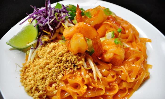 iZap Thai & Sushi Bar - Northwest Dallas: Sushi and Thai Cuisine at iZap Thai & Sushi Bar (Half Off). Two Options Available.