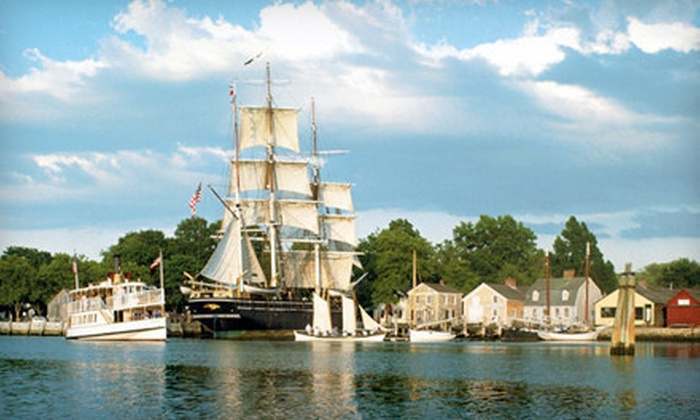 Mystic Seaport: The Museum of America and the Sea - Mystic Seaport: Visit for Two or Four to Mystic Seaport: The Museum of America and the Sea (Half Off)