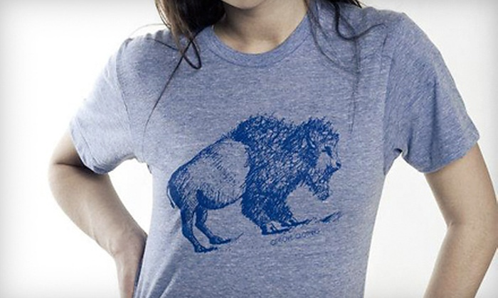 CityLove Clothing Company: One or Two T-Shirts from CityLove Clothing Company (Up to 59% Off)