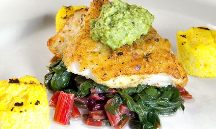 Four-Course Dinner for Two, Four, or Six, or Three-Course Lunch for Two at Tony Mandola's (Up to 35% Off)