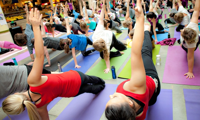 Power of Movement - Downtown: C$10 for Power of Movement Yoga Event Benefiting Arthritis Research Foundation (C$20 Value)
