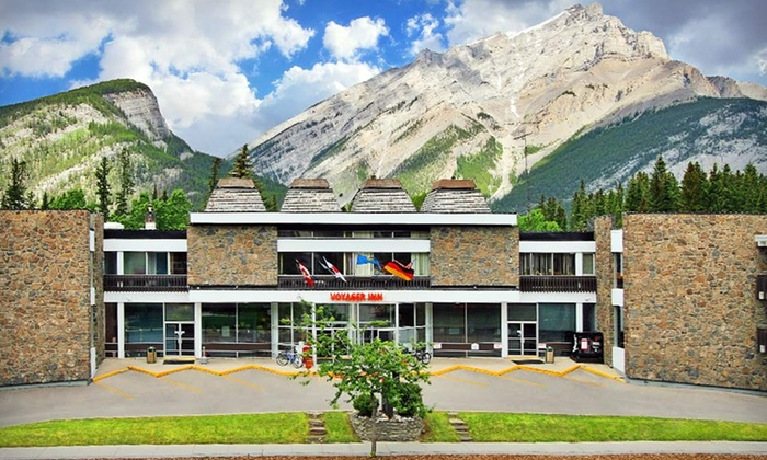 null - Edmonton: Stay at Banff Voyager Inn in Alberta. Dates Available Through September.