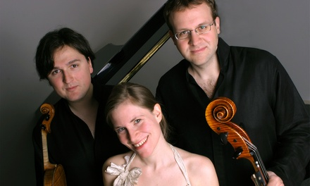 Chamber Music Tulsa Presents: Morgenstern Trio on Sunday, November 9 (Up to 43% Off)