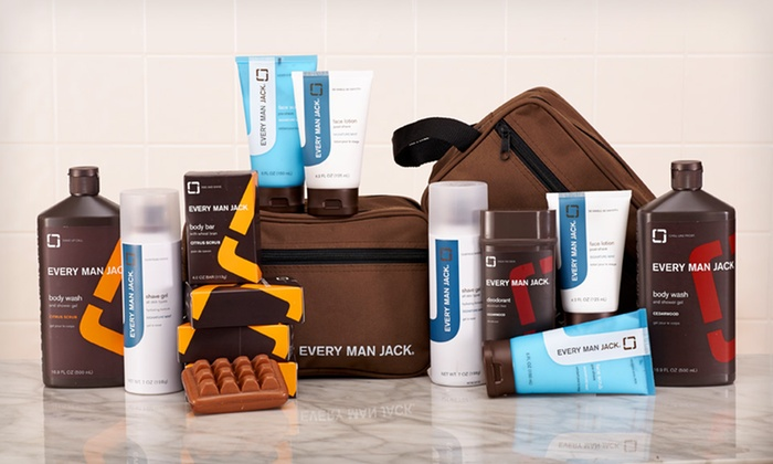 Every Man Jack Father's Day Gift Kit: $27.99 for an Every Man Jack Father's Day Body-Product Gift Kit ($40 List Price). 2 Scents Available. Free Shipping.