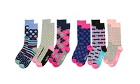 GROUPON: 3 Pairs of Women's Happy Socks 3 Pairs of Women's Happy Socks