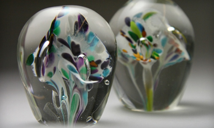 Flo Glassblowing - Hintonburg - Mechanicsville: C$69 for a Flower-Paperweight Glass-Blowing Workshop at Flo Glassblowing (C$124.30 Value)