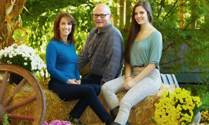 "Spotlight Photography - Far Eastside: $59 for a 45-Minute Photo Shoot with 11""x14"" Print and 25-Image DVD Slideshow at Spotlight Photography ($385 Value)"