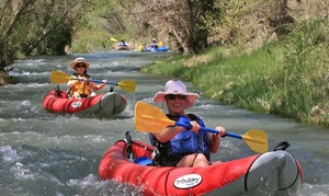Sedona Adventure Tours: Inflatable Kayak Verde River Trip for Two or Four at Sedona Adventure Tours (Up to 52% Off)