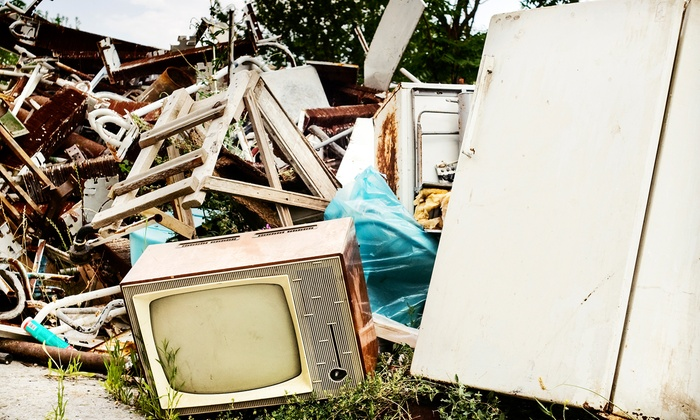 Canada Junk Removal - Toronto (GTA): Removal of 1/4 or 1/2 Truckful of Junk from Canada Junk Removal (Up to 55% Off)