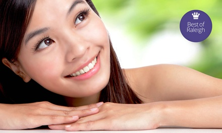 Facial Treatments at Pure Medical Spa and Triangle Injectables (Up to 81% Off). Three Options Available.