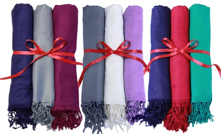 Set of 3 Pashmina Scarves