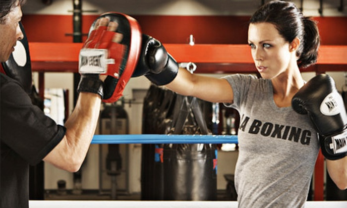 LA Boxing - Downtown Walnut Creek: One Month of Unlimited Boxing and Kickboxing Classes with Optional Personal-Training Session at LA Boxing (77% Off)