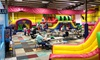 Kangaroo Jac's - Greenbrier East: Four Admissions with Popcorn and Soda, or a Party with Pizza for Up to 20 at Kangaroo Jac's (Up to 50% Off)