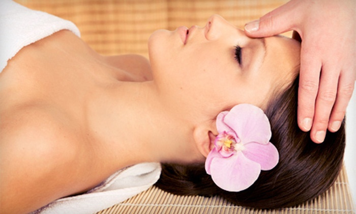 Islands Massage - North High School: 60-Minute Custom Massage with Option for 30-Minute Chinese Pressure-Point Facial at Islands Massage (Up to 54% Off)