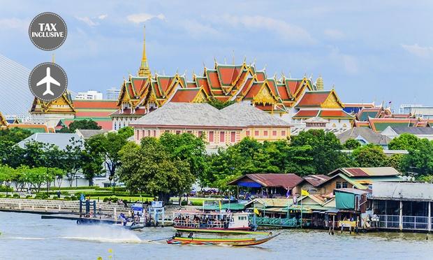 Bangkok: Local Hotel + Flights 0