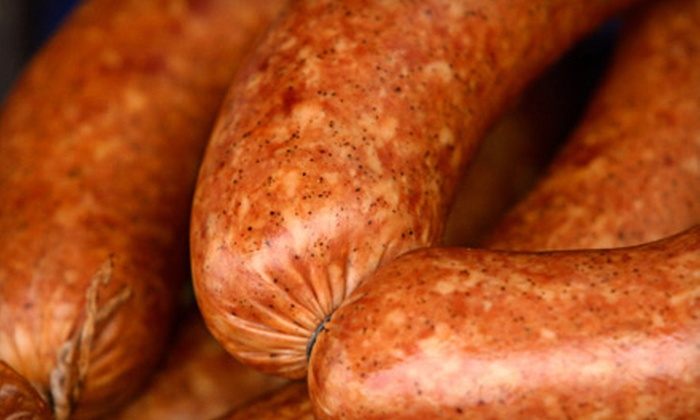 T-Bones Natural Meats - O'Fallon: One Package of Brats