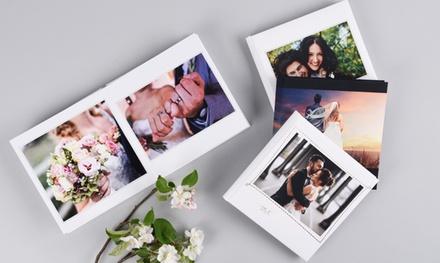 1 ou 2 albums photos Deluxe de mariage de 20 pages dimension au choix dès 28,99 € (jusqu'à 59% de réduction)