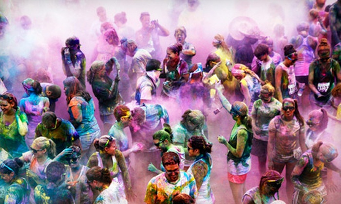 Color Me Rad - Ellet: $19.99 for 5K Entry from Color Me Rad at Akron Derby Downs on Saturday, August 17 (Up to $40 Value)