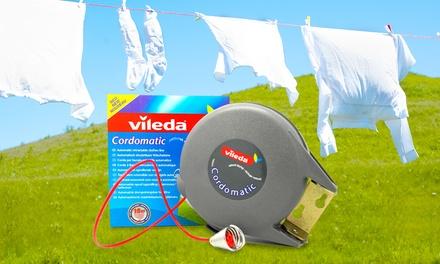 Vileda 15m cordomatic washing line castors for furniture