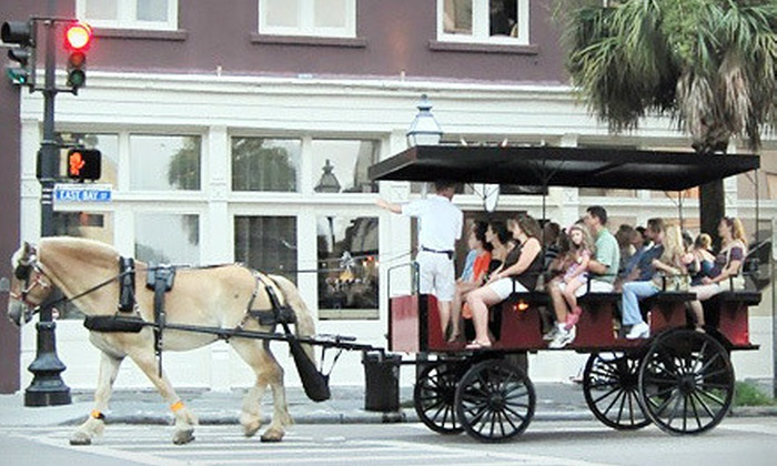 Olde Towne Carriage Company - Downtown: $20 for Two Tickets for Carriage Tour of Historical Charleston from Olde Towne Carriage Company (Up to $44 Value)