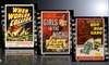 Vintage Movie Posters Printed on Metal: Vintage Movie Posters Printed on Metal. Multiple Styles Available. Free Returns.