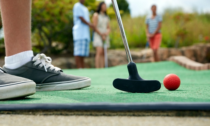Pelican's SnoBalls - Cary - Cary: One or Two 18-Hole Rounds of Miniature Golf for Four at Pelican's SnoBalls (Up to 45% Off)
