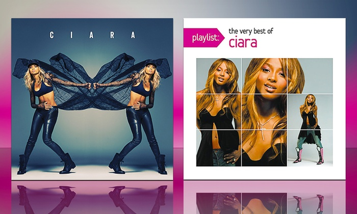 Ciara 2-CD Bundle: $13.99 for a 2-CD Bundle with Ciara and Playlist: The Very Best of Ciara ($19.98 List Price). Free Returns.