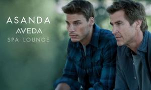 Asanda Aveda Spa Lounge: Men's Haircut, 50-Minute Massage, or Both at Asanda Aveda Spa Lounge (Up to 69% Off)