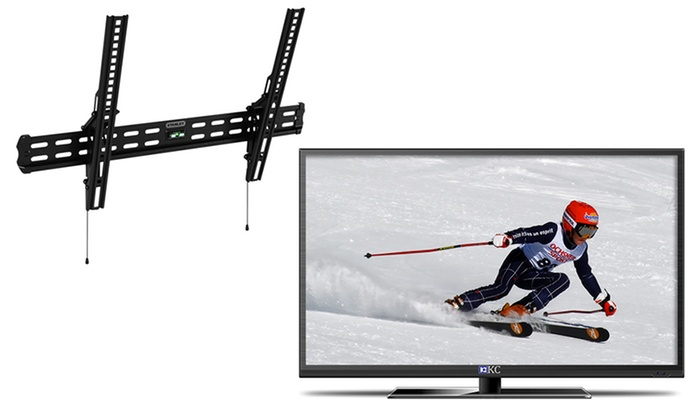 "39"" KC LED 1080p HDTV with Stanley 37""–60"" Tilting Mount: 39"" KC LED 1080p HDTV with Stanley 37""–60"" Tilting Wall Mount. Free Returns."