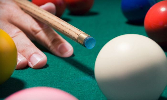 Olympic Billiards - Edmonds: $10 for $20 Worth of Billiards, Pub Food, and Drinks at Olympic Billiards and The O-Lounge in Edmonds