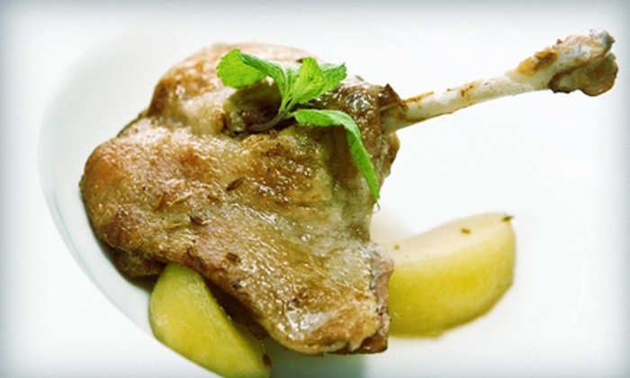 Balkan Bistro & Bar - 10th & Page: $15 for $30 Worth of Mediterranean Cuisine at Balkan Bistro & Bar