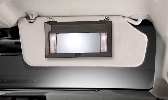 2 Pack Of Lighted Vanity Mirrors Groupon Goods