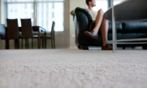 Steam Solutions: Carpet Cleaning for Three, Four, or Five Rooms with One Room of Protectant from Steam Solutions (Up to 57% Off)
